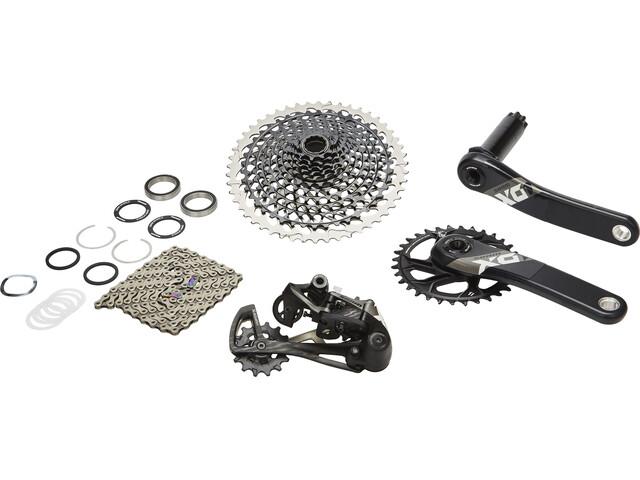 SRAM X01 Eagle - Piezas para bicicletas - 1x12s BB30 negro